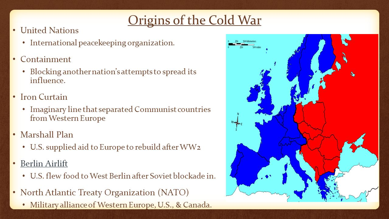Origin Of Iron ~ Cold war conflicts the u s and soviet union emerged
