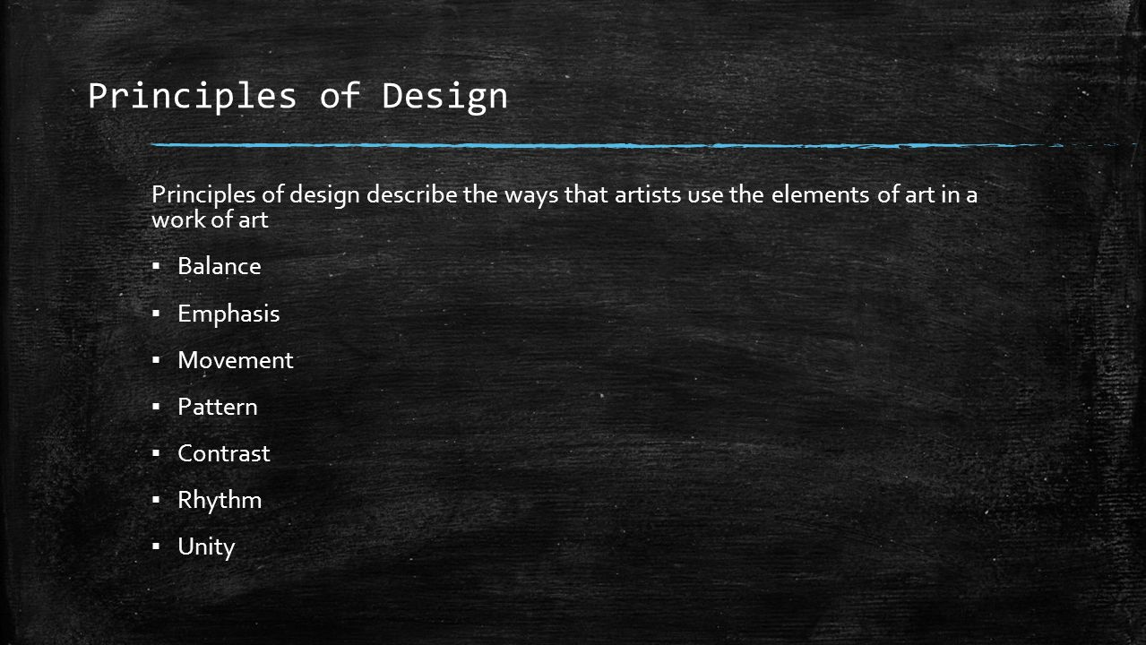 Elements Of Design Movement : Visual art definitions from artlex ppt video online