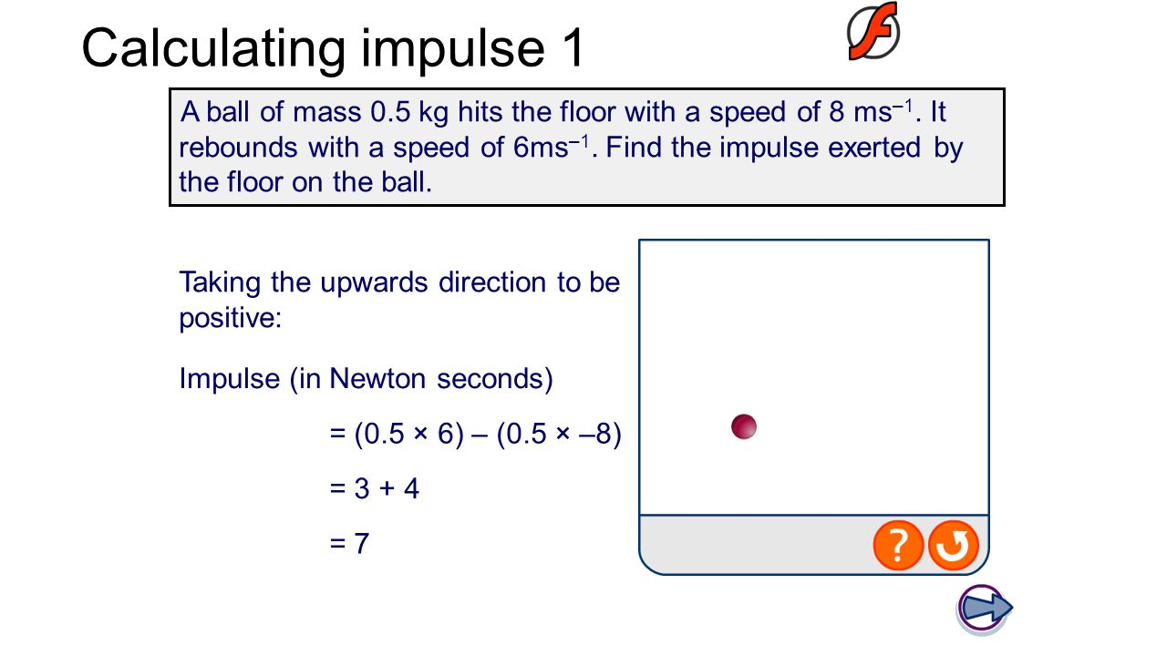 how to find change in velocity with impulse