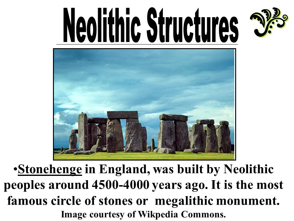 neolithic revolution outcomes impacts and achievements The neolithic revolution marks the change from nomadic hunting and gathering to a settled life in small villages 12,000 years ago, which led to the development of agriculture and the domestication of animals living life in year-round, permanent dwellings led to changes in the neolithic culture and .