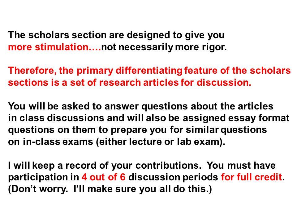 essay answer format
