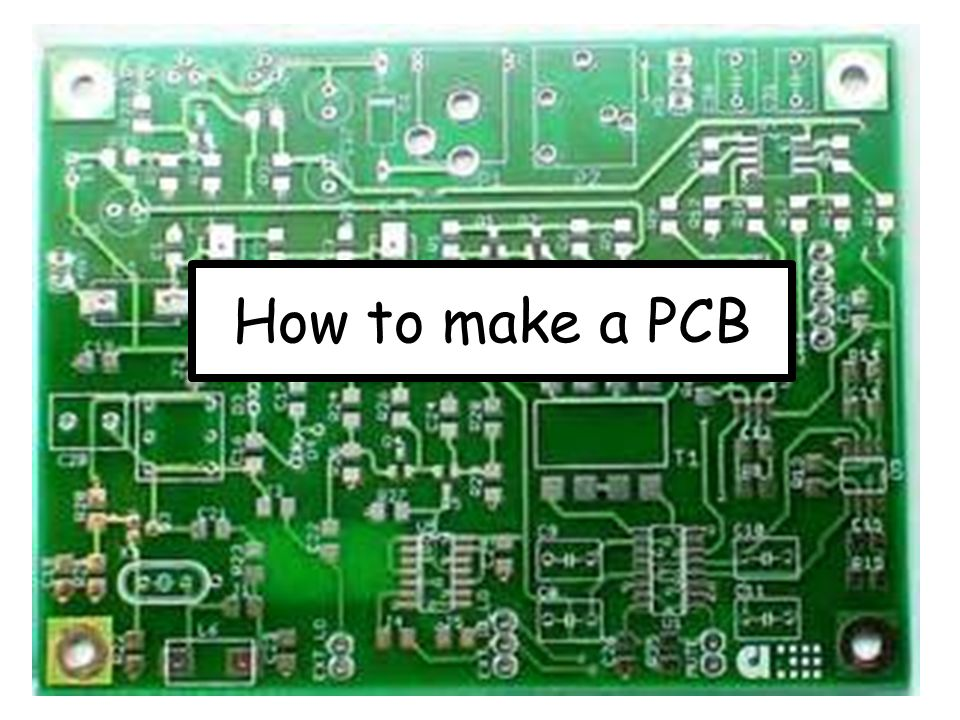 How to make a PCB. - ppt video online download