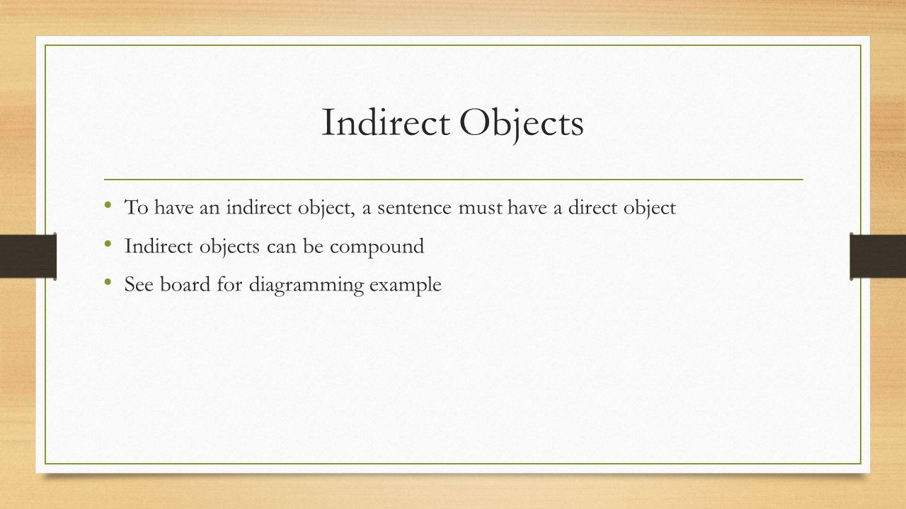 Gl transitive and intransitive verbs ppt download 6 indirect ccuart Image collections