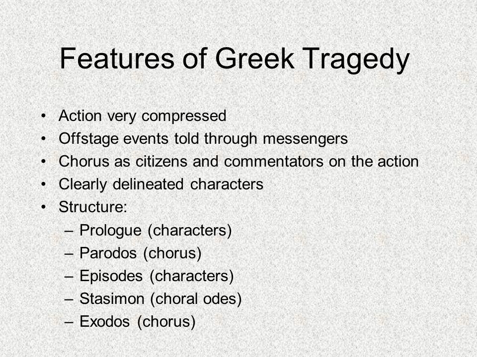 characteristics of greek tragedy pdf