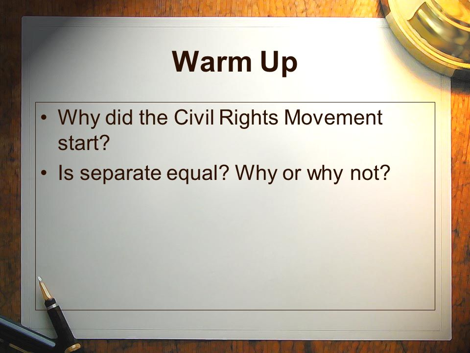 why did the activism of the Why did a campaign for civil rights emerge in the 1950s the civil rights movement is the title given to the concerted effort to gain greater social.