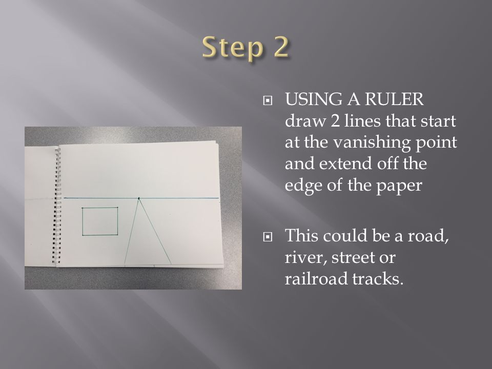 Drawing Lines Using A Ruler Ks : Space linear perspective is a mathematical system for