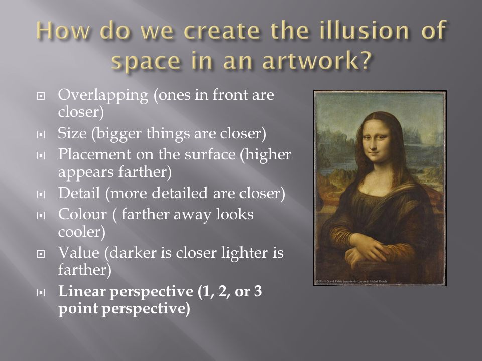 How Do We Create The Illusion Of Space In An Artwork