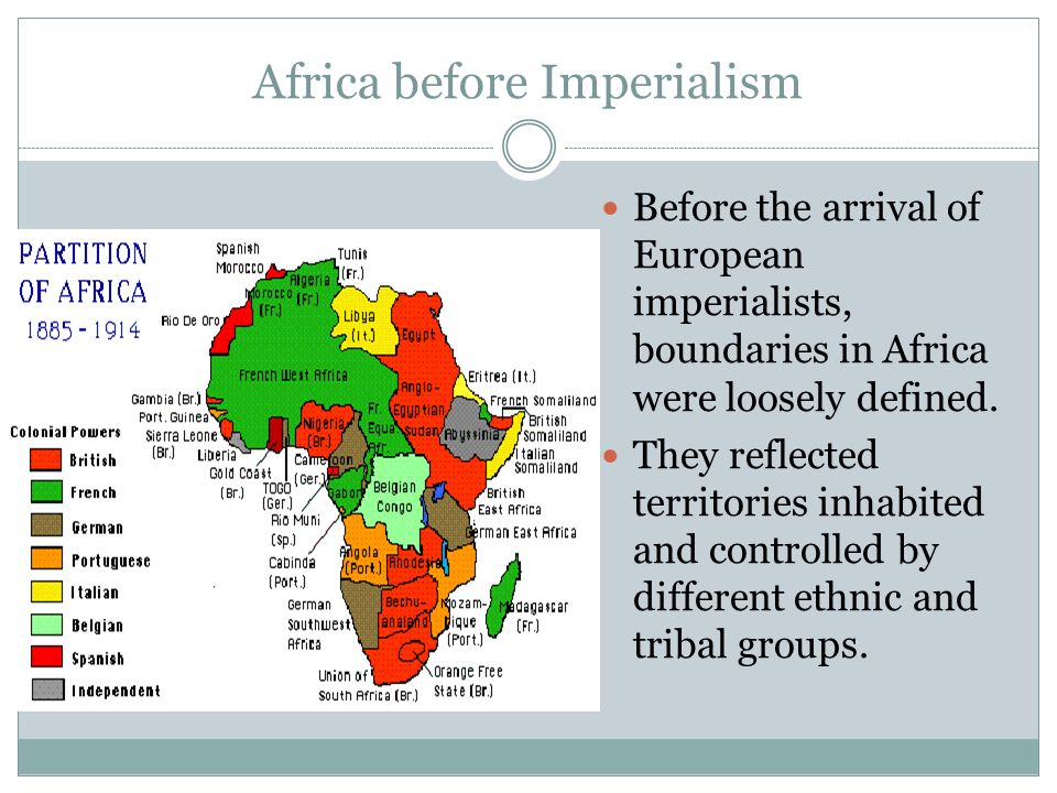 the problem of imperialism in south africa Imperialism is one of the problems of africa it bestowed in them so many unhealthy attitudes and hampered her true identity imperialism from the onset became a cankerworn into the minds of the african people.