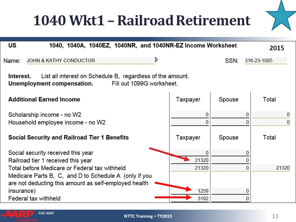 Social Security and Railroad Retirement Equivalent ppt download – Social Security Benefits Worksheet 1040a