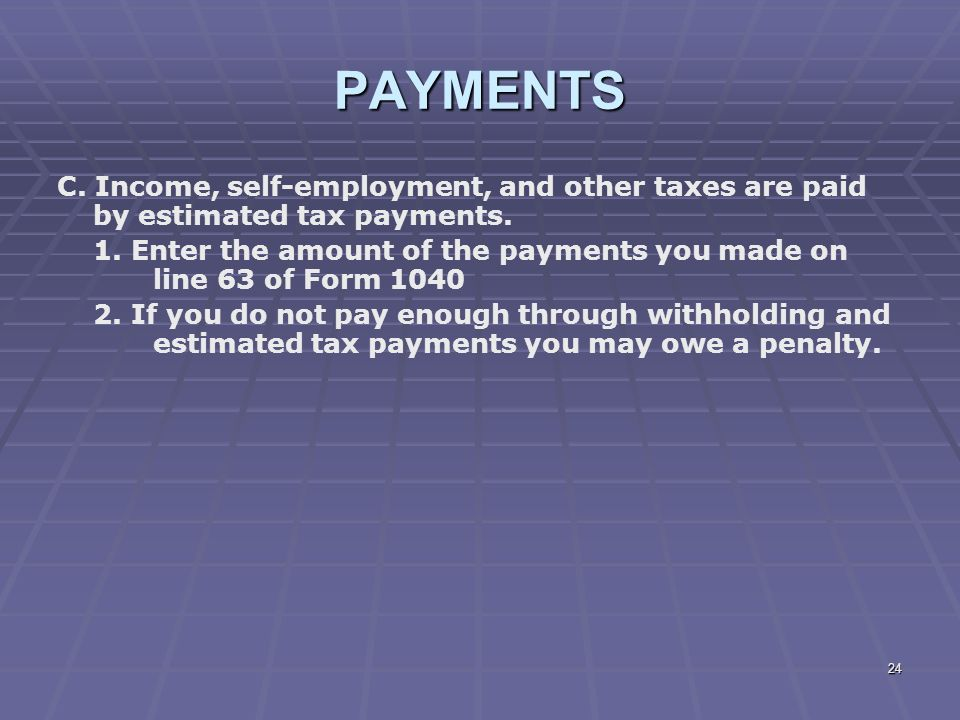 Liberty Tax Service Online Basic Income Tax Course Lesson Ppt