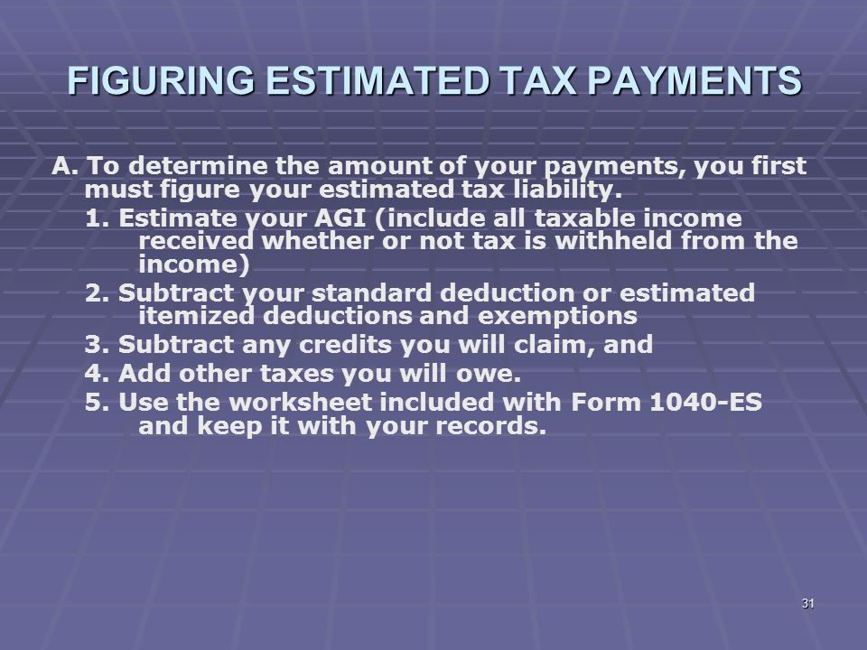 how to pay estimated taxes online