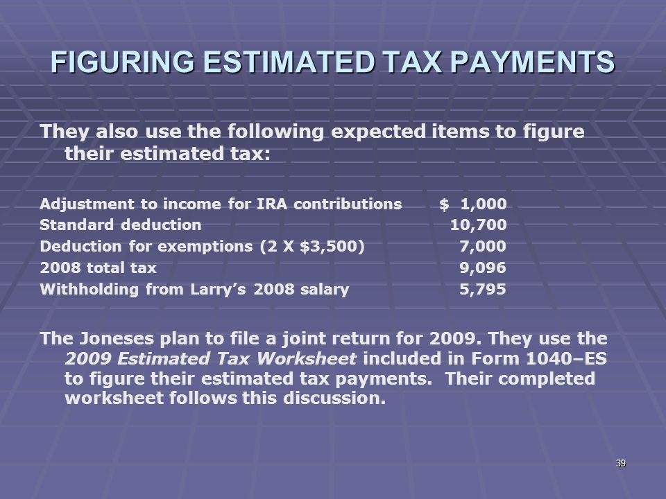 Liberty Tax Service Online Basic Income Tax Course Lesson ppt – Eftps Direct Payment Worksheet Short Form