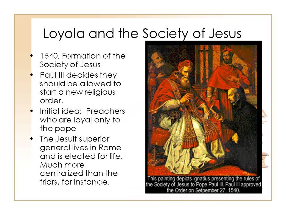 the society of jesus the jesuits religion essay Science & religion superior general the society of jesus (the jesuits) the delhi province of the society of jesus, was formed on the first of january.
