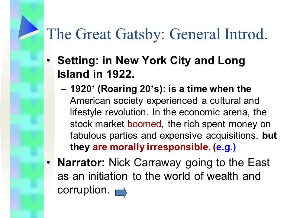 gatsby corruption of wealth Corruption of the rich based on the great gatsby by f scott fitzgerald written during the roaring twenties, a time when individuals felt the need to surpass the ideals of the american dream, f scott fitzgerald's renowned novel, the great gatsby, explores how wealth ultimately leads to corruption within a society.