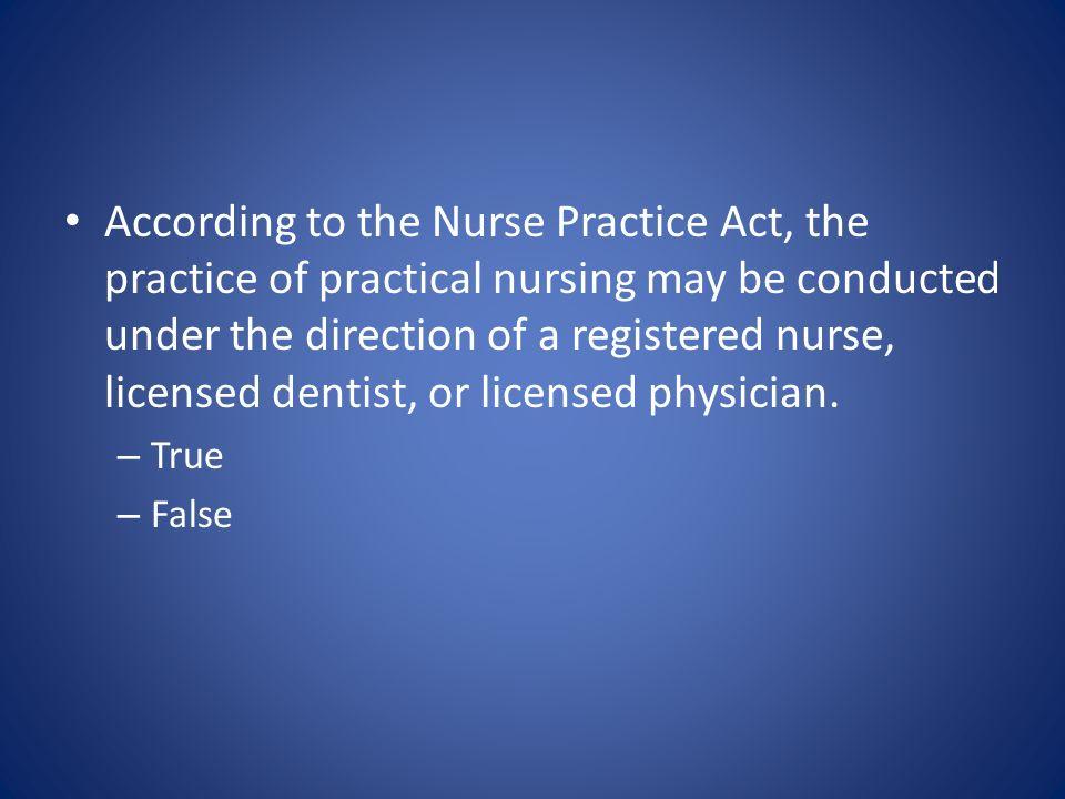 florida nurse practice act