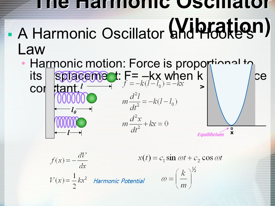 how to find displacement with vibration harmonic motion