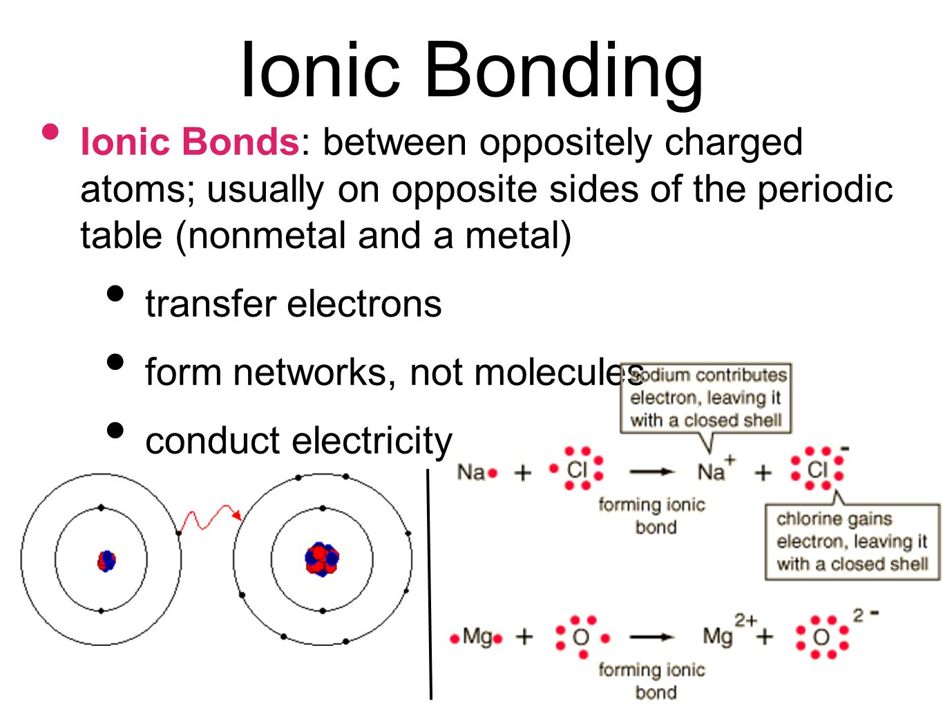 Ionic bond periodic table choice image periodic table images bonding and chemical reactions ppt video online download 6 ionic gamestrikefo choice image gamestrikefo Choice Image