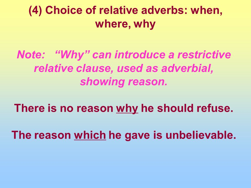 adverb clause of reason pdf