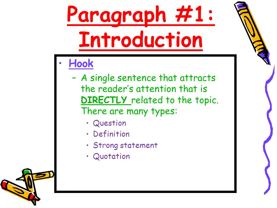 Introduction sentences for essays