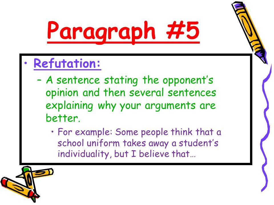 refutation essays