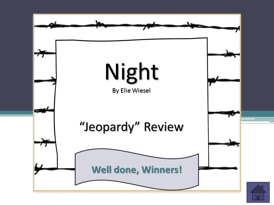 Night and Day: A Review of Elie Wiesel's Night