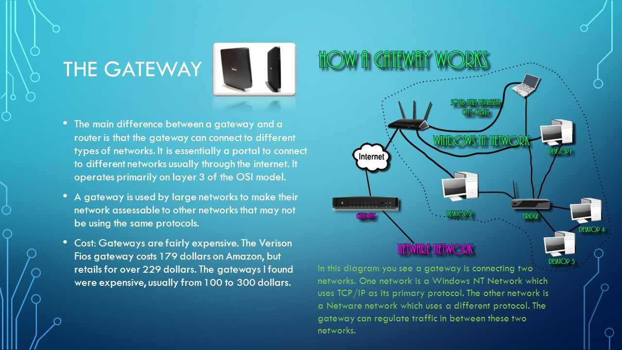 difference between router and gateway pdf