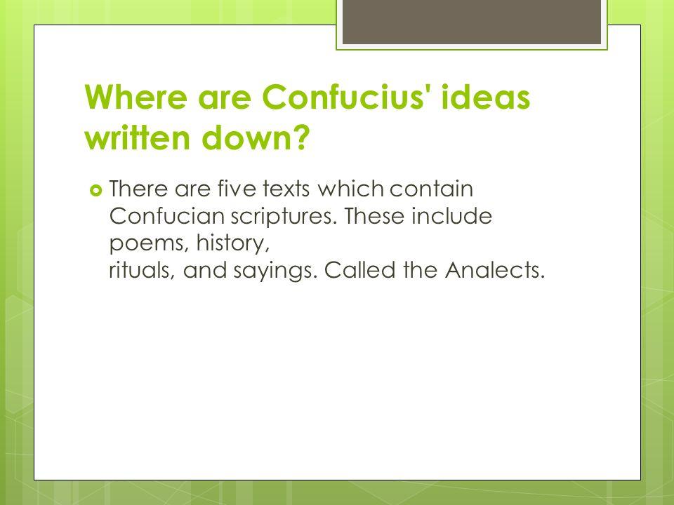 confuciast ideals