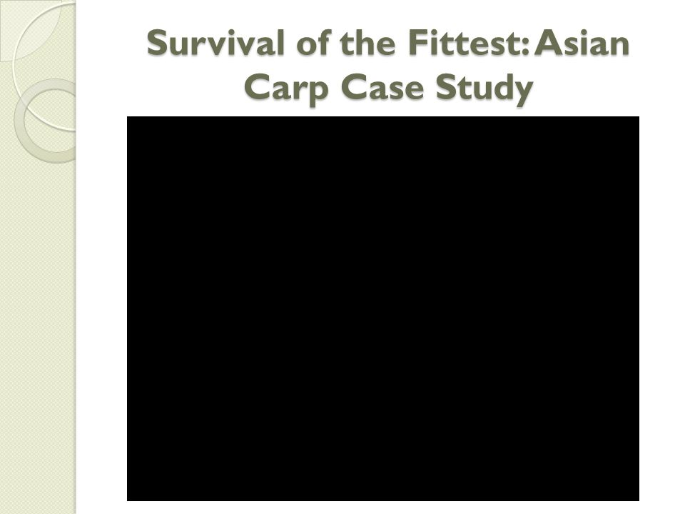 Asian carp case study data