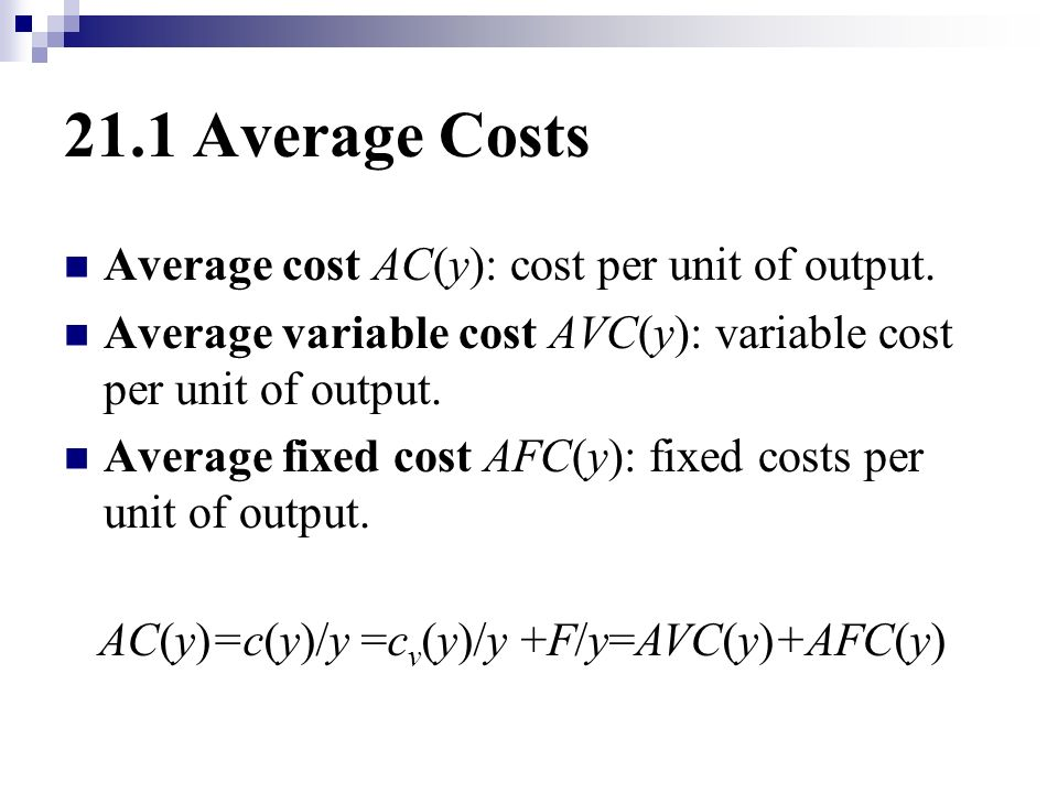 cost per output Production and costs: the theory of the firm  the firm would likely use the input that increases its output at the lowest cost by comparing  cost-per-unit table.