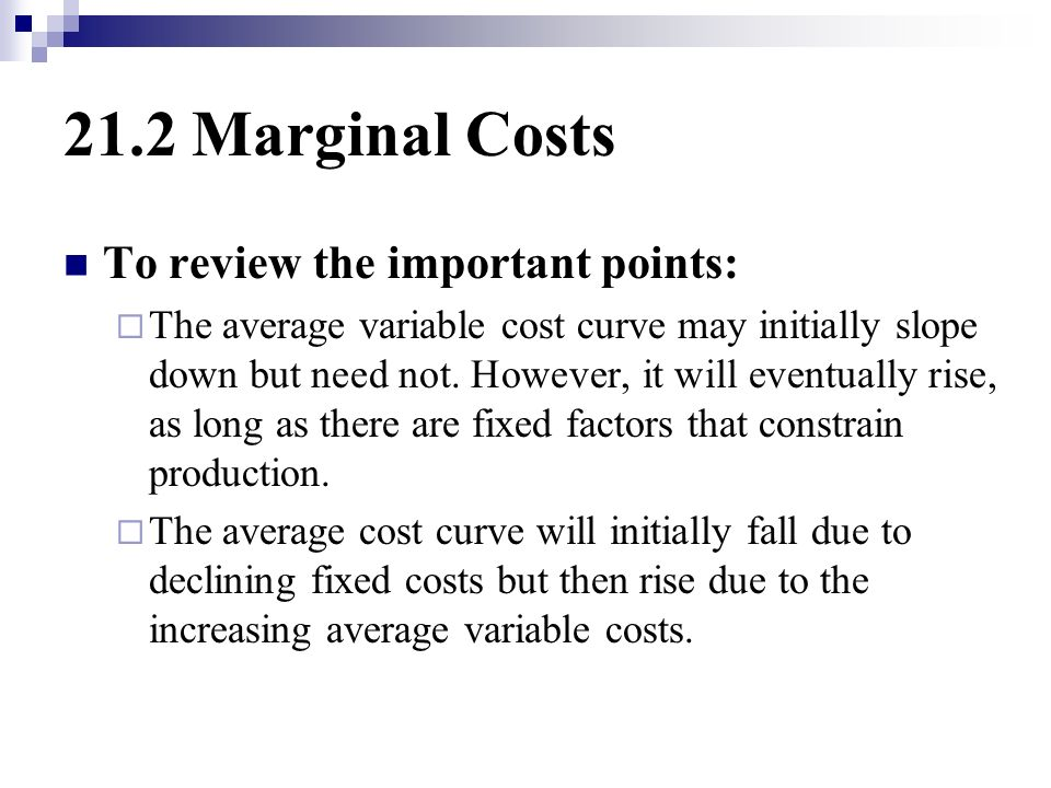 how to find average variable cost from variable cost