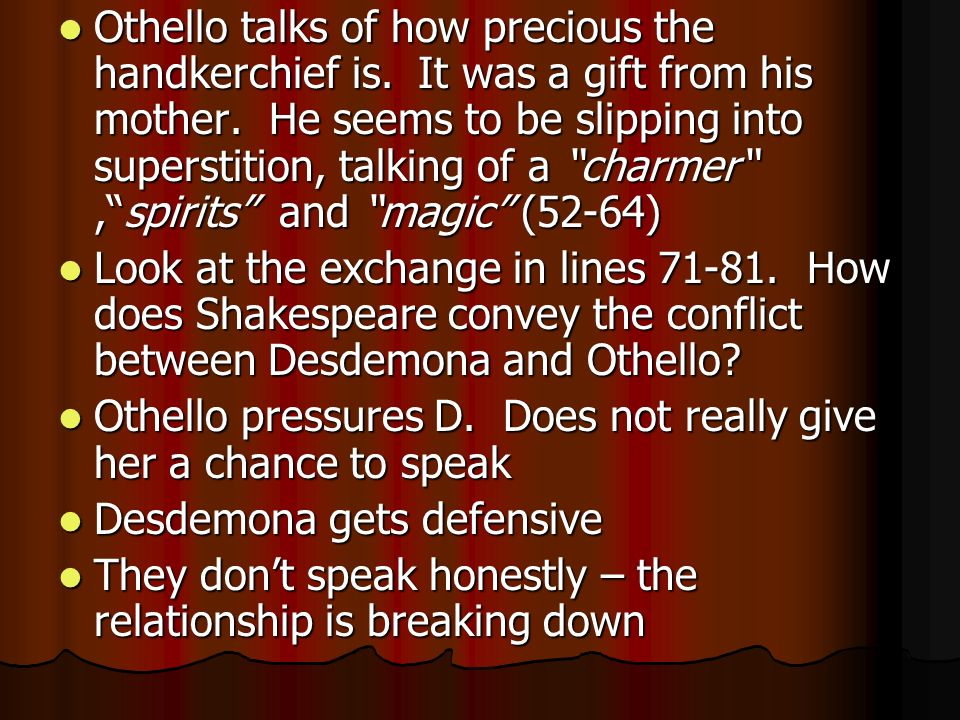 othello the unending popularity essay The first pre-publication version of ukrainian literature in english:  essay on shevchenko as  remind us of the timeless and unending struggles of.