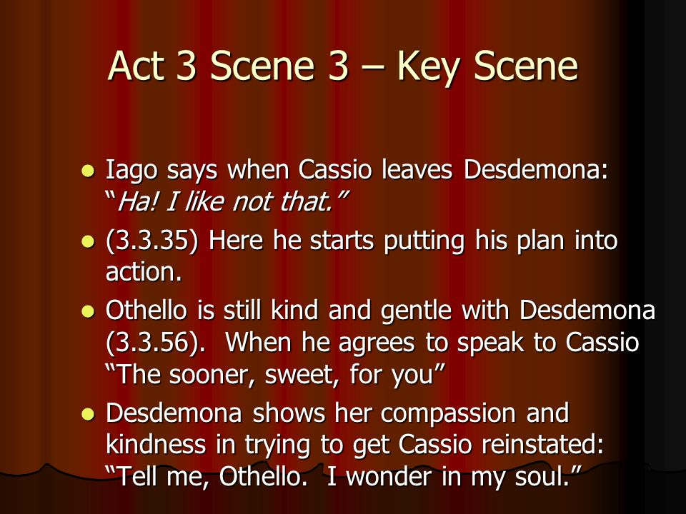 cassio and desdemona relationship marketing