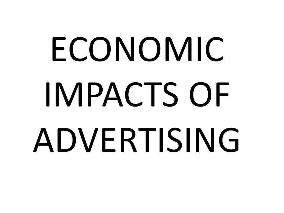 The Role of Advertising in Society