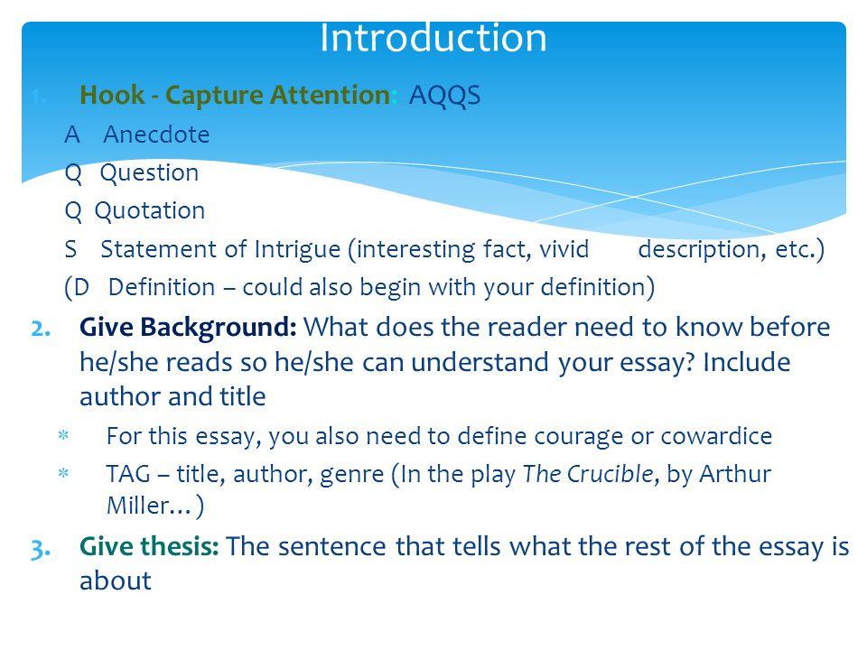 Crucible essay mla format sample