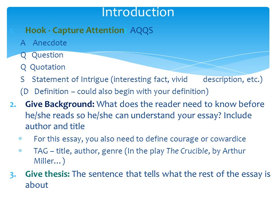 introduction hook capture attention aqqs ppt video online  introduction hook capture attention aqqs