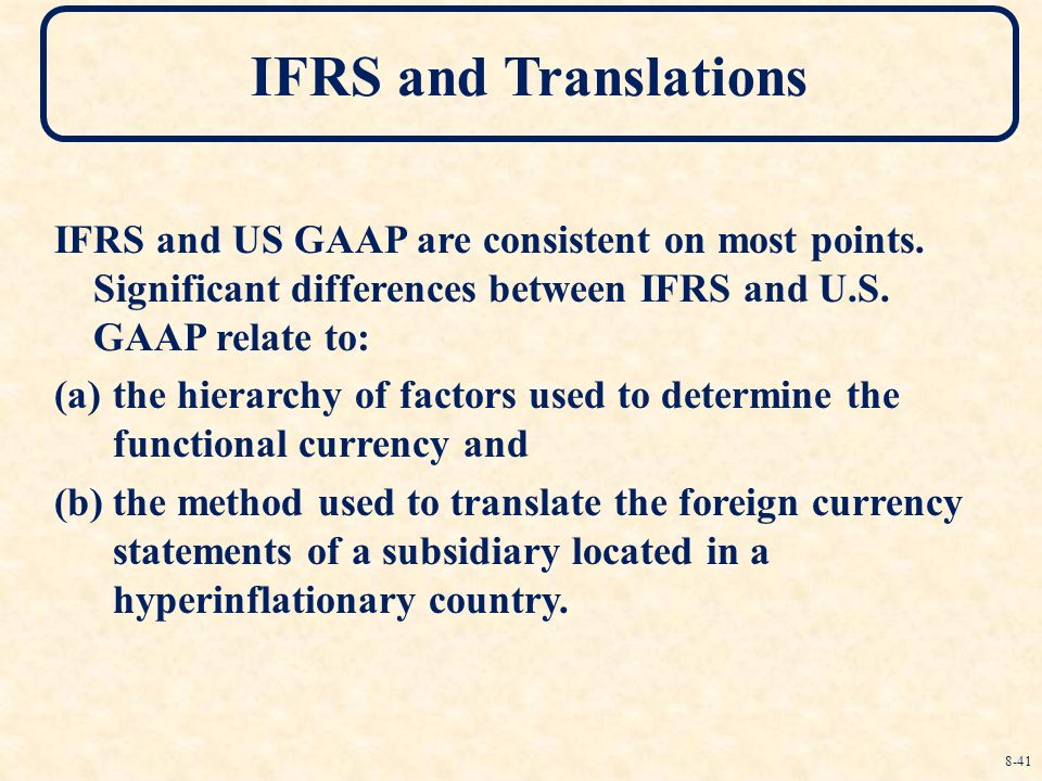 us gaap and french gaap For the complete details of ifrs standards and us gaap requirements, as well as sec rules, regulations, and practices, readers should refer to the complete text of the standards, rules, regulations, and practices themselves.