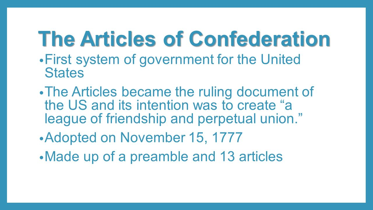 articles of confederation were effective in solving the problems of new nation Evaluate the extent to which the articles of confederation were effective in solving the problems that confronted the new nation in what ways did developments in transportation bring about economic and.