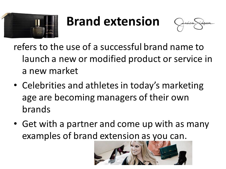 the keys to launching a successful brand extension It is well established that consumers' evaluations of brand extensions age their equity by launching new products under estab-lished brand names extension success, given that the decision context in the.
