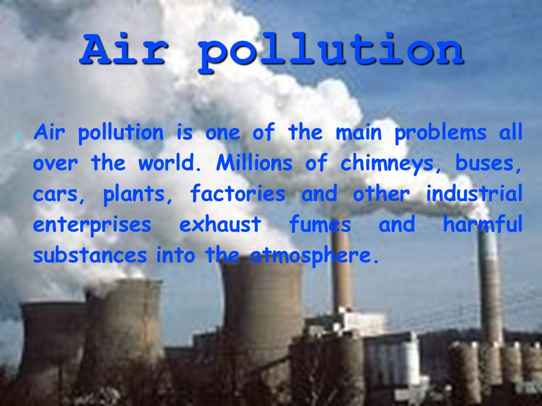 the problem of industrial pollution Industrial pollution in japan table  this volume presents research results on the negative side-effects of japan's rapid technological and industrial development.