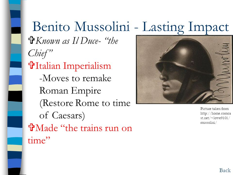 Hitler, Mussolini, Stalin, and Tojo: The men behind the start of ...