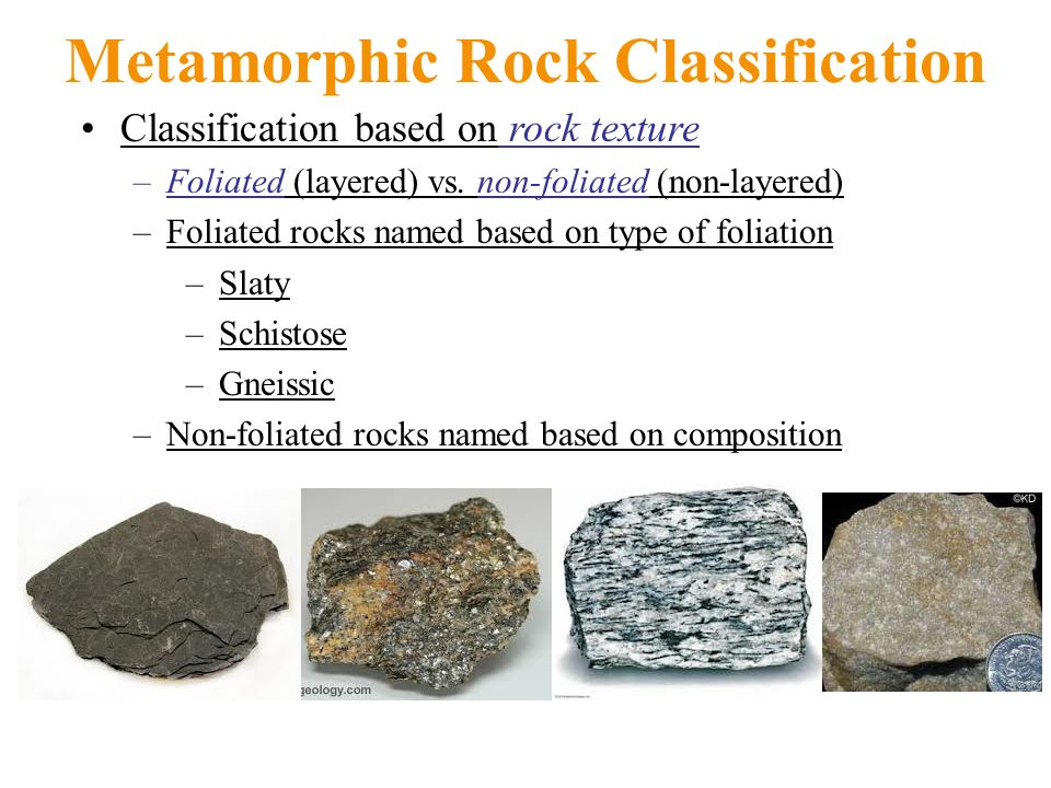 Metamorphic Rocks Metamorphism refers to solid-state changes to ...