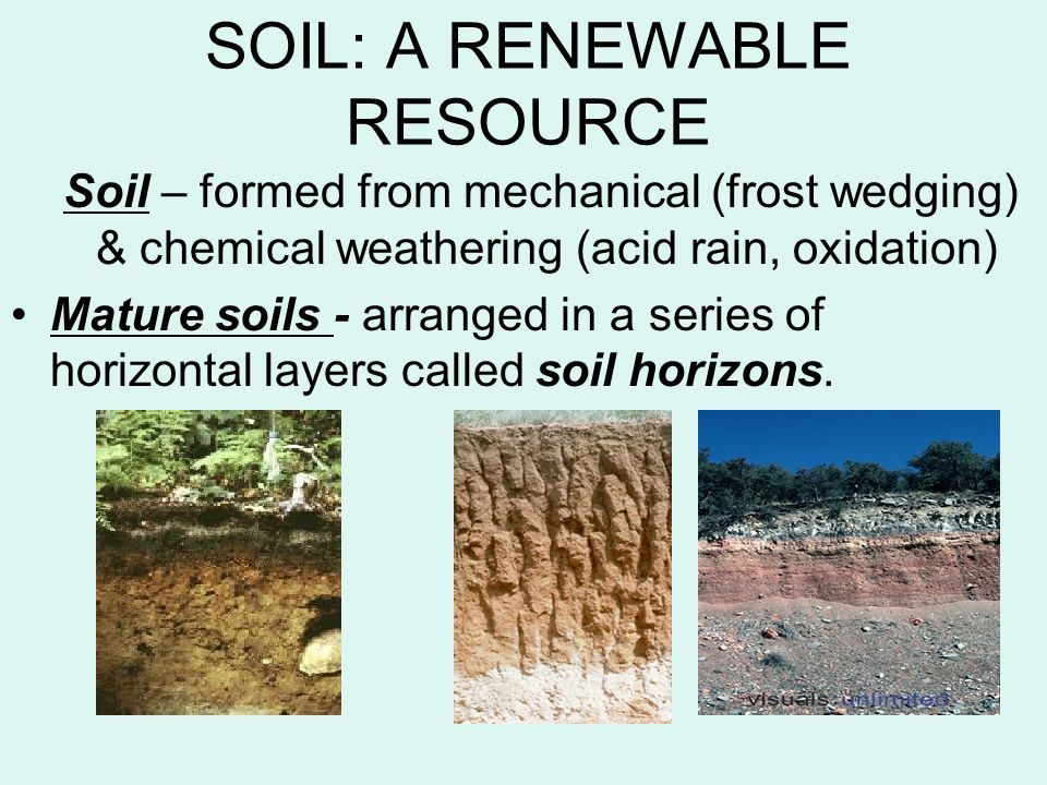 Chapter 15 soils mining ppt video online download for Soil resources definition