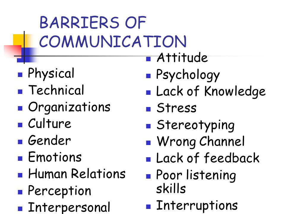 communication needs methods and barriers The purpose of this exercise is to teach about barriers to communication  risk in communication often has  what does a group do to avoid doing what it needs to.