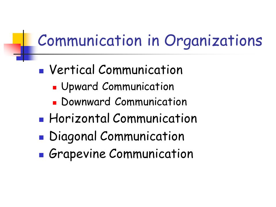 objectives of horizontal communication Organizational communication is the process by which information is shared  within  communications that zigzag along horizontal and vertical routes, on the .