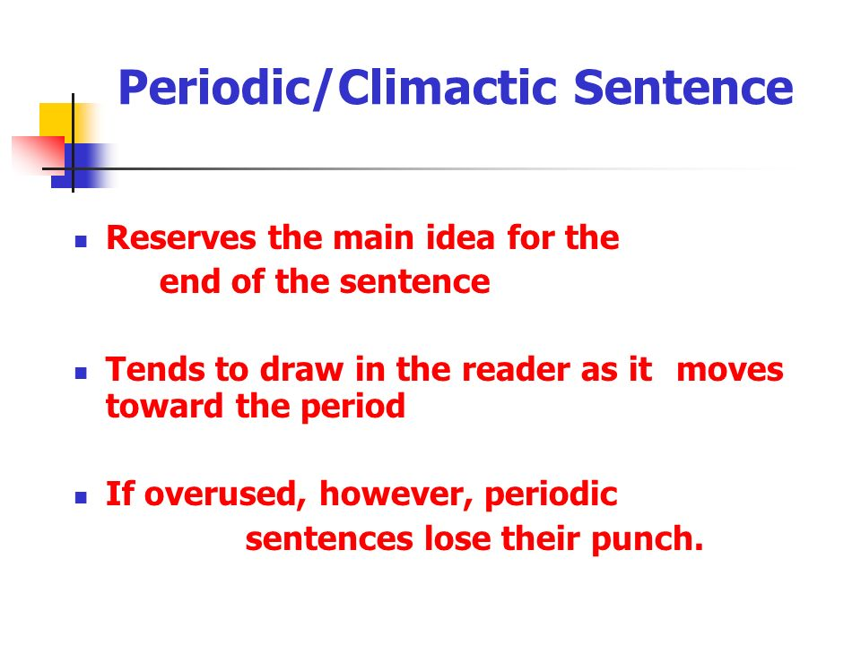 Loose/cumulative sentence - ppt video online download