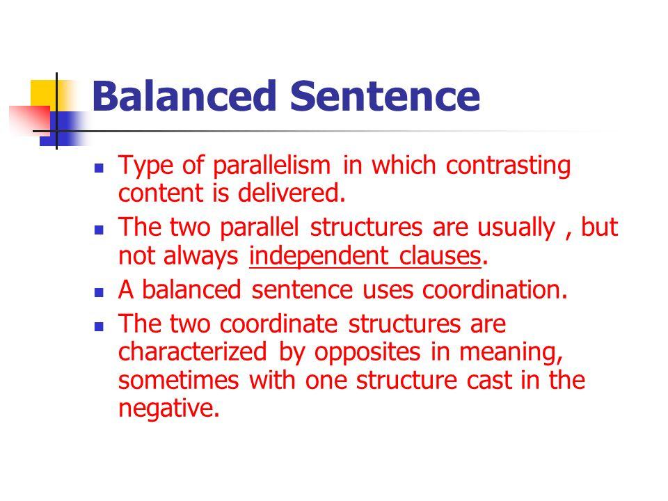 Balanced Sentence 14801 Loadtve