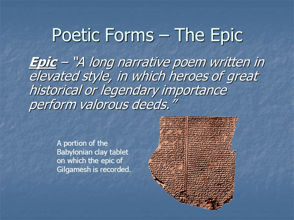 """an analysis of the epic of gilgamesh a sumerian epic poem The oldest epic tale in the world was written 1500 years before homer wrote the illiad """"the epic of gilgamesh"""" tells of the sumerian gilgamesh, the hero k."""