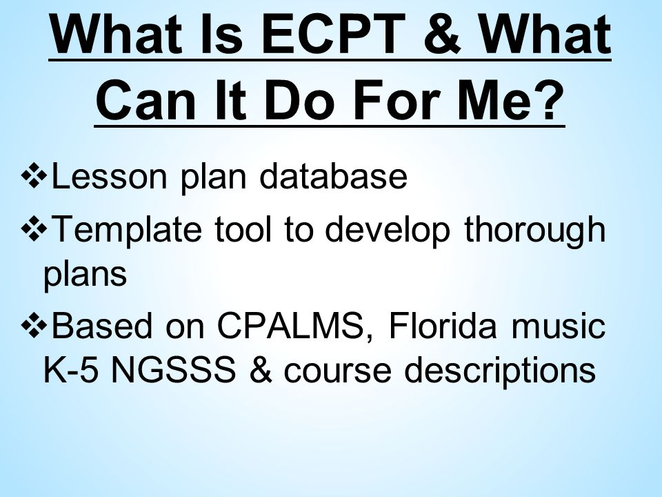 Elementary Music Ngsss Curriculum Planning Tool Ecpt Assessments