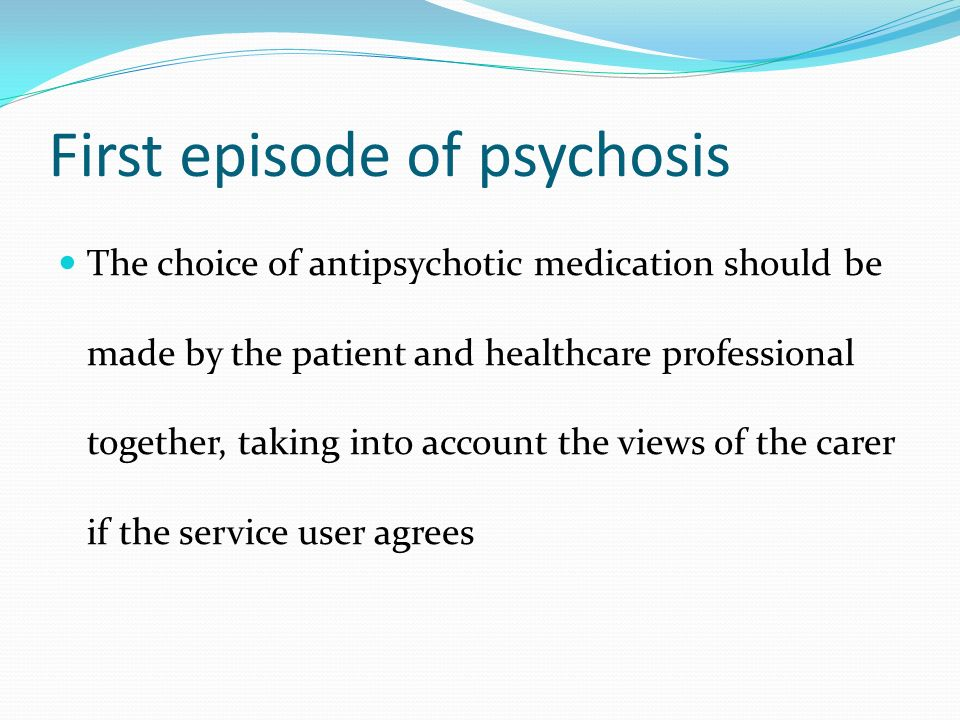 Schizophrenia biopsychosocial management and evidence for First choice my account