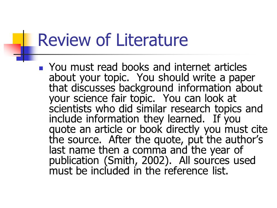 How to Write Literature Review for Research Papers